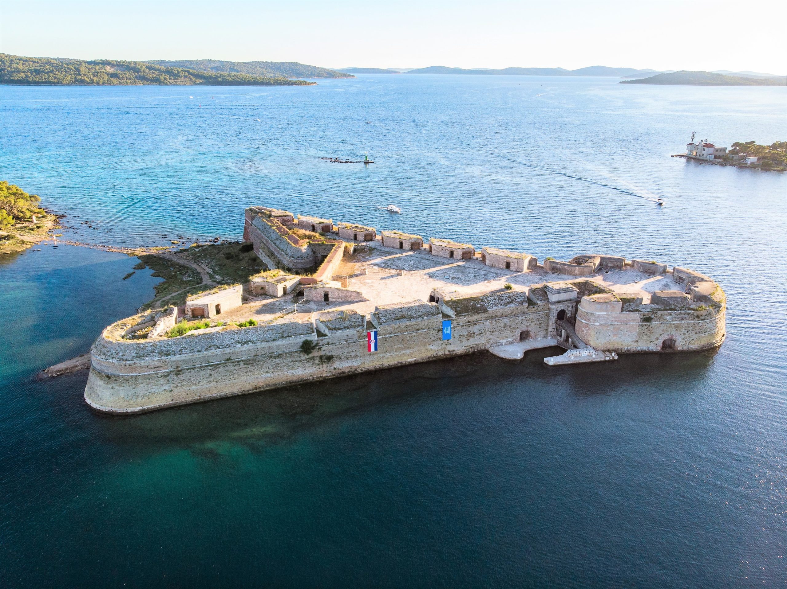 Tourism Valorization of St Nicholas' Fortress in the St Anthony's Channel